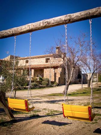 Casa Rural Isidro Barba: Parque infantil