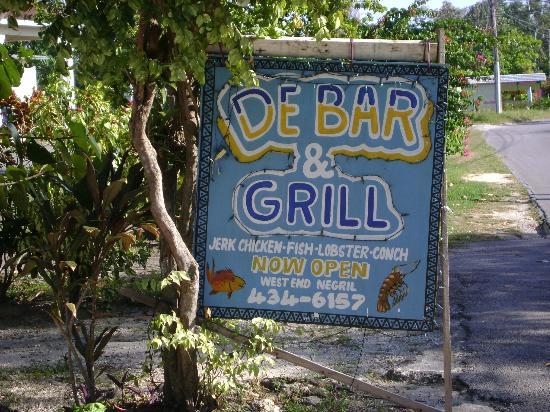 De bar: Good eats