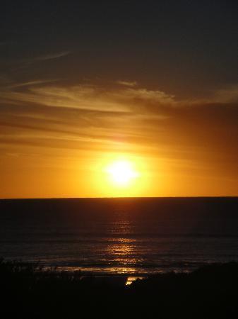 Apart Hotel Punta Verde: Vista del amanecer desde la habitación