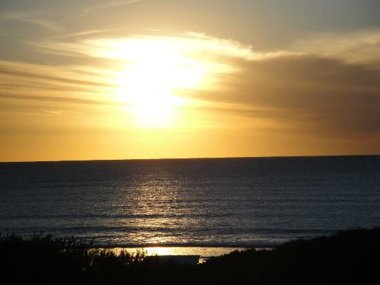 Apart Hotel Punta Verde : Vista del amanecer desde la habitación