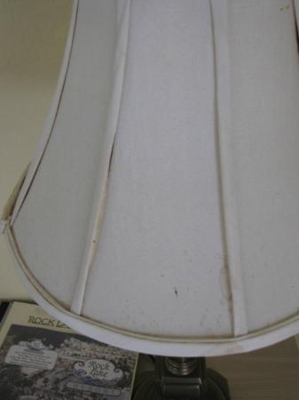 Rock Lake Resort: stains on the lamp