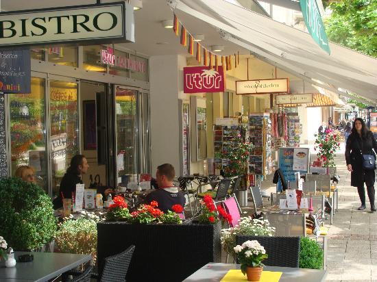 Hotel-Cafe Löhr: Aussenterasse