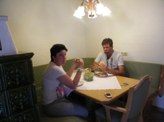 Pension Edelweiss : keuken