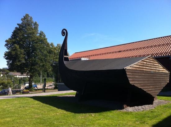 Viking Museum Bilde Av T 248 Nsberg I T 248 Nsberg Kommune