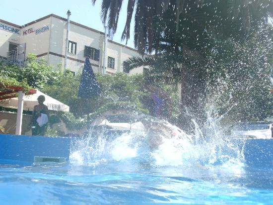 Hotel Riviera: The joys of the pool on a hot day!