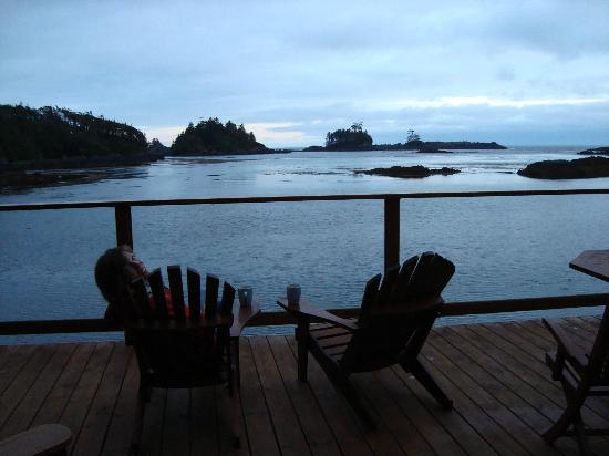 Bostrom's B&B On Little Beach Bay: lower deck