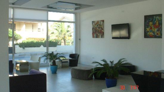 Hotel Egge : The lobby