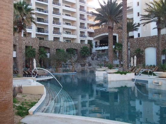 Grand Solmar Land's End Resort & Spa : View from the main pool area