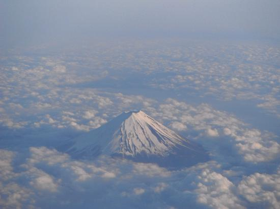 Chubu, Japón: Great picture we took from an airplane.
