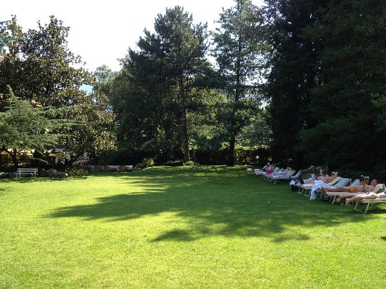 Park Hotel Mignon & Spa: Beautiful lawns