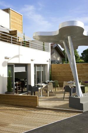 Hype Hotel : notre terrasse
