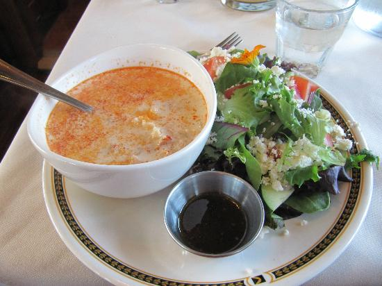 Train Station Inn: seafood chowder