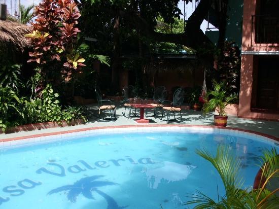 Casa Valeria Boutique Hotel: Pool und Garten