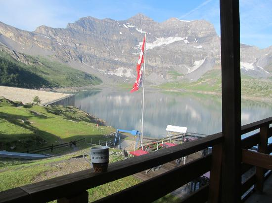 Auberge de Salanfe : view from room