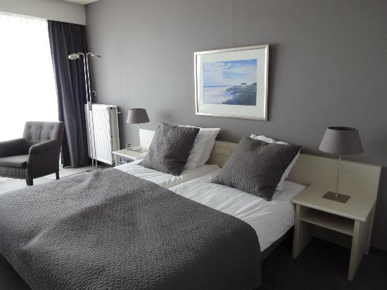 Hotel de Blanke Top : deel van de slaapkamer
