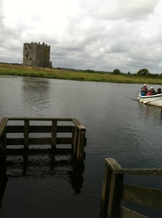 Threave Castle: view from the jetty