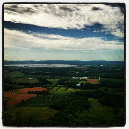 Canning, Canada: stunning beautiful sweeping view of the Annapolis Valley
