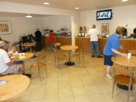 BEST WESTERN Aladdin Inn: Frühstücksraum