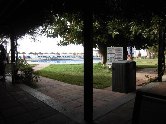 Best Western Hotel Salobrena: TERRAZA