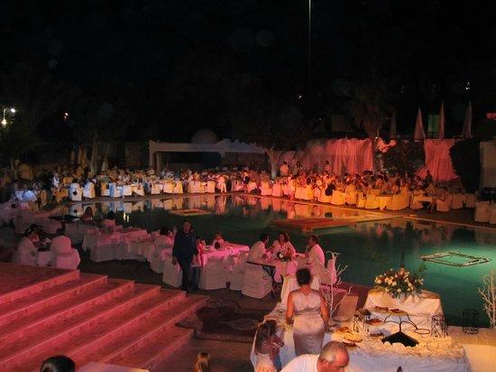 Club Med Agadir : Soirée à thème Blanche