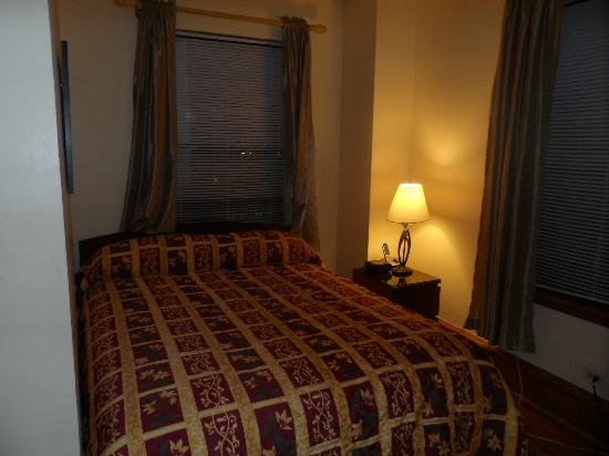 Dewitt Hotel & Suites: coin chambre