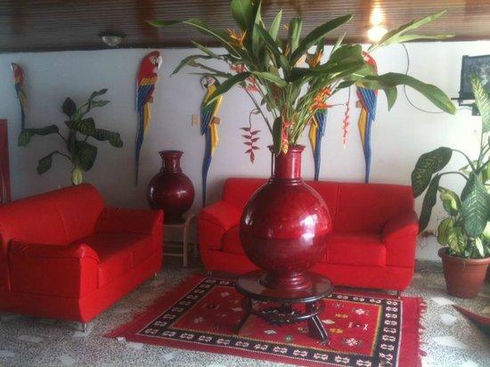 Hotel Amazonas Real : salon de resecion