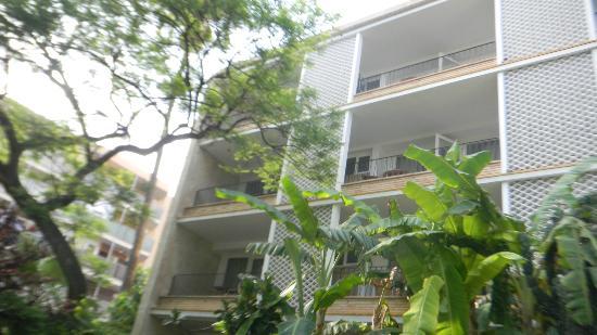 Araxa Hotel: vistas a nuestra habitacion