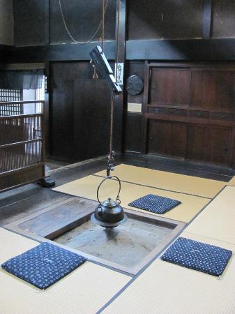 Kusakabe Folk Museum : Irori (the hearth)