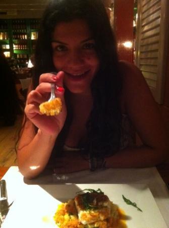 Restaurant La Salsa: Love con el mero trinchado.