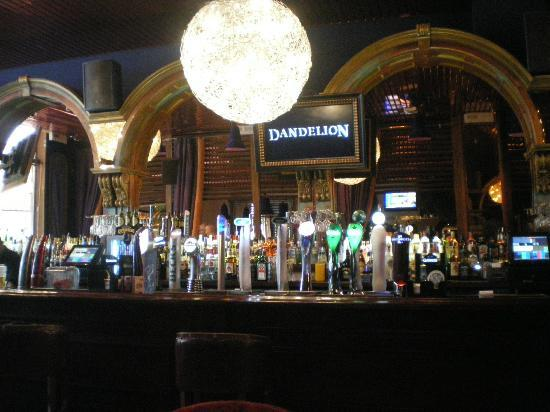 Dandelion: View of the bar from our table