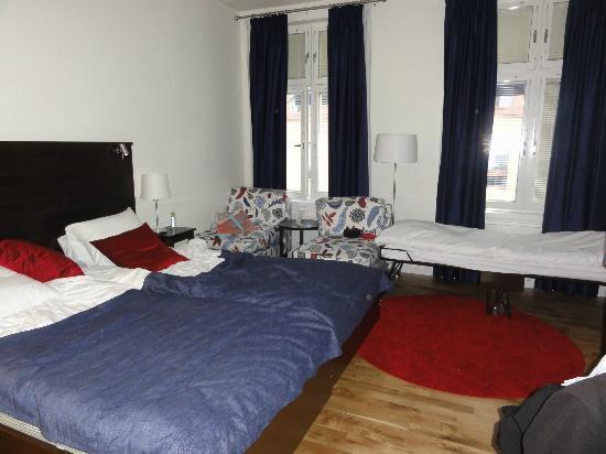 BEST WESTERN Plus Edward Hotel: Doppelzimmer mit Zustellbett