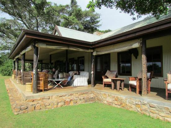 Camp Figtree: This is where we relaxed and dined, .................sigh