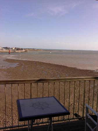 Hotel Les Brises : view from the room