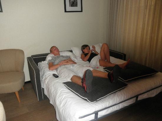 Ponte Vecchio Suites & SPA : Sofa Bed