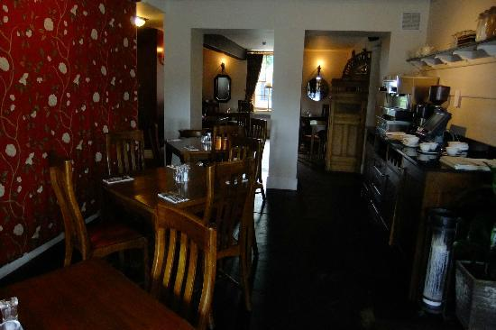 The Badger Inn: SERVING AREA