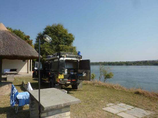 Protea Hotel Zambezi River Lodge: CAMPING PITCH