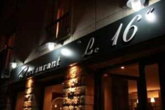 "restaurant ""Le 16"" : 3"