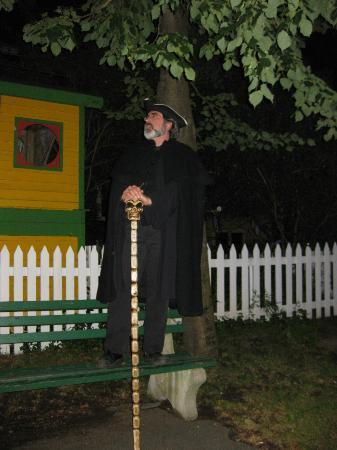 St. John's Haunted Hike: Professor Jonathan Ignatius Wilkinson
