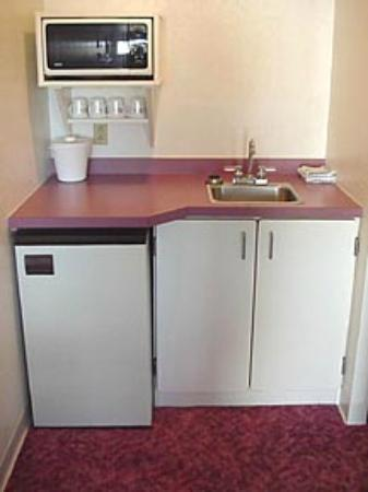 All Seasons Motel: Kitchenette