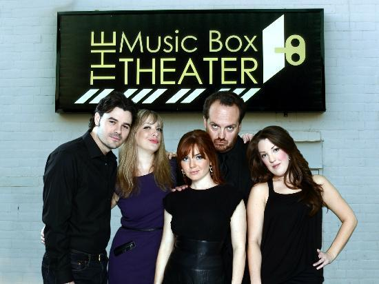 The gang at The Music Box Theater