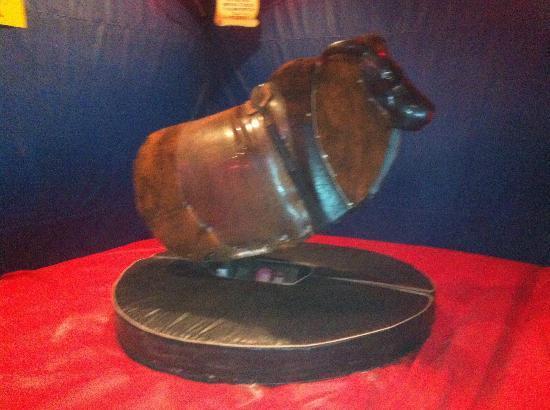 Big Bubba's Bad BBQ: The bull.