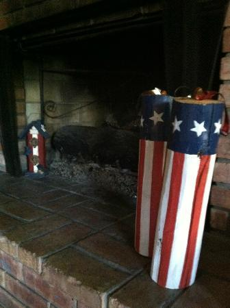 Patchwork Quilt Inn: July 4th decor