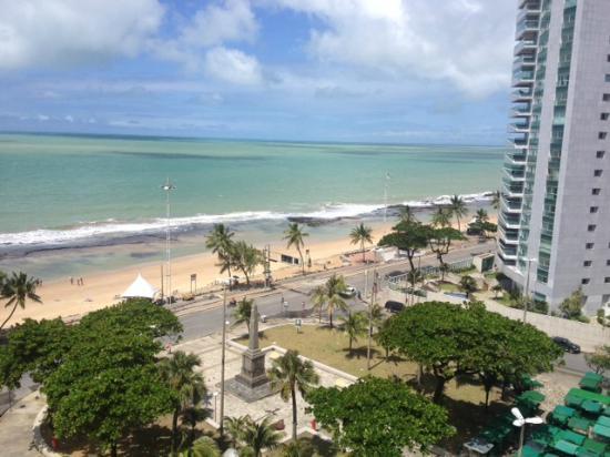 Vista Da Praia Desde Apartamento 1009 Do Park Hotel