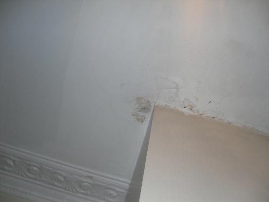 The Belgravia Hotel: ceiling