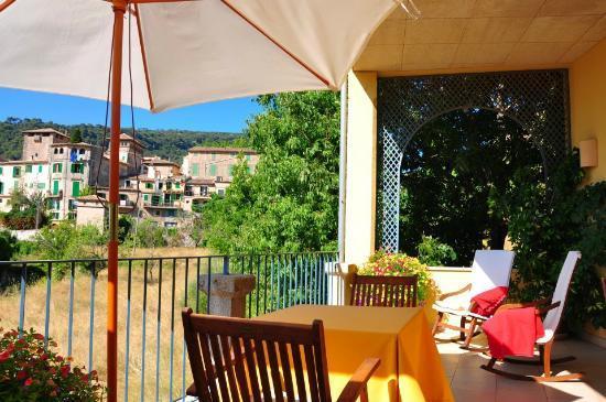 Es Petit Hotel de Valldemossa: Terrace