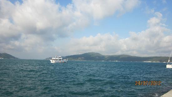 Set Balik Lokantasi: The view from Set Balik