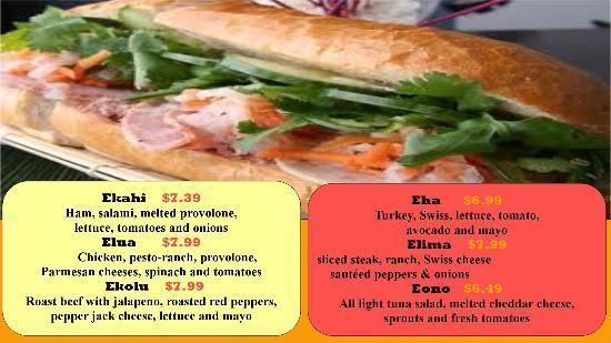 Java Cafe: Sandwiches