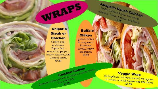 Java Cafe: Wraps
