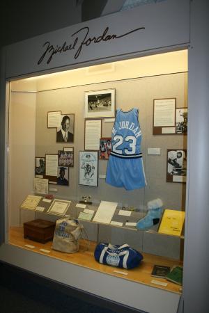 Cape Fear Museum: Michael Jordan exhibit