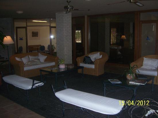 Las Dunas Hotel: Recepción